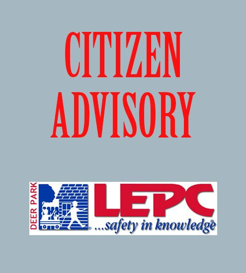 Citizen advisory - LEPC