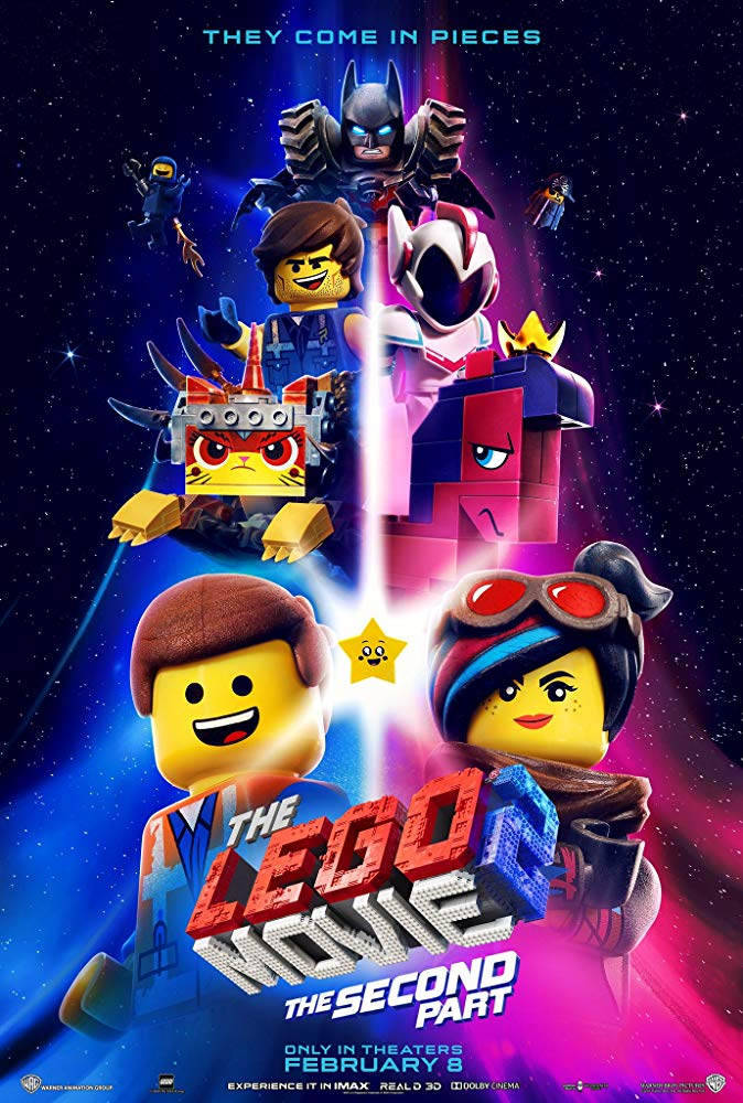 The LEGO Movie 2 Opens in new window